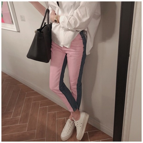 Never pink jean